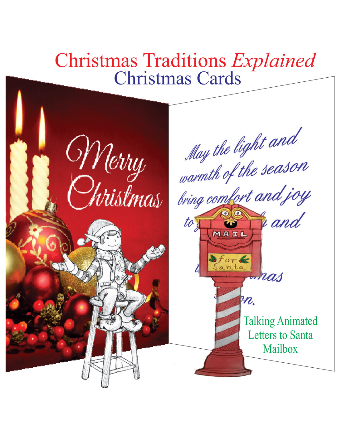 Christmas Traditions Explained Christmas Cards Christmas Animatronic Magic